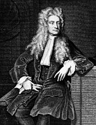 Physicist Posters - Sir Isaac Newton (1643-1727) Poster by Granger