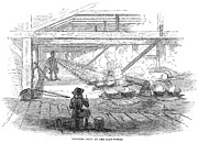 Black Commerce Prints - Slave Labor, 1857 Print by Granger