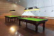 Guang Ho Zhu - Snooker Room