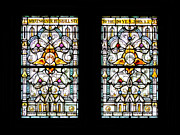 Religious Art Photos - Stained Glass Window by Rudy Umans