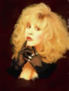 Stevie Nicks Print by Brian Tones