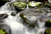 Brook Photos - Stream by Les Cunliffe