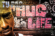 Biggie Art - Street Phenomenon 2Pac by The DigArtisT