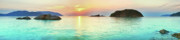 Sea View Art - Sunrise by MotHaiBaPhoto Prints