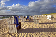 Beach Chairs Posters - Sylt Poster by Joana Kruse
