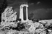 Republic Prints - Temple Of Apollo Hylates In The Sanctuary Of Apollon Ylatis At Kourion Archeological Site Cyprus Print by Joe Fox