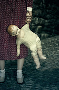 Bizarre Photo Prints - The Doll Print by Joana Kruse