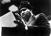 Thelonius Monk 1917-1982jazz Pianist Print by Everett