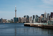 Toronto Photo Prints - Toronto skyline Print by Blink Images