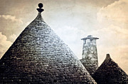 Stone Chimney Framed Prints - Trulli Framed Print by Joana Kruse