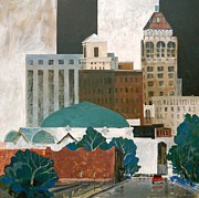 Mjonesart Prints - Tulsa Print by Micheal Jones