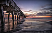 Atlantic Coast Framed Prints - Tybee Island Framed Print by Gagan  Dhiman