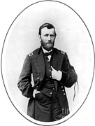 U.s Army Framed Prints - Ulysses S. Grant, 18th American Framed Print by Photo Researchers