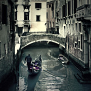 Dark Framed Prints - Venezia Framed Print by Joana Kruse