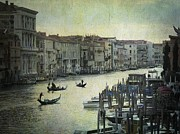 Grande Canal Framed Prints - Venice Framed Print by Bernard Jaubert