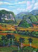 Del Rio Paintings - Vinales Valley by Miguel Alfaro