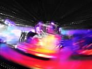 Lights Digital Art Originals - Waltzer by Charles Stuart