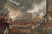 Washington Burning, 1814 Print by Granger