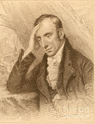Romanticism Posters - William Wordsworth, English Romantic Poster by Photo Researchers