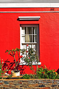 Rough Texture Framed Prints - Windows of Bo-Kaap Framed Print by Benjamin Matthijs
