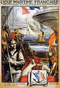 Sailor Prints - World War I: French Poster Print by Granger