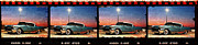 Filmstrip Framed Prints - 4 X 1958 Framed Print by Scott T