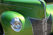 Stock Photo Digital Art - 40 Ford - Front Pass Angle-8651 by Gary Gingrich Galleries