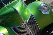 Stock Photo Digital Art - 40 Ford - Grill Angle-8659 by Gary Gingrich Galleries