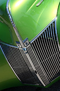 Stock Photo Digital Art - 40 Ford - Grill Detail-8633 by Gary Gingrich Galleries