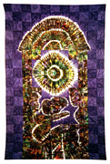 Largemouth Bass Tapestries - Textiles - 40 by Mildred Thibodeaux