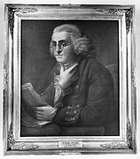 Benjamin Franklin Prints - Benjamin Franklin (1706-1790) Print by Granger