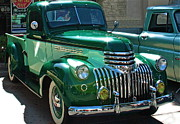 Custom Automobile Digital Art Posters - 41 Chevy Truck Poster by Gwyn Newcombe