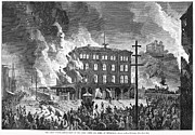 Mob Prints - Great Railroad Strike, 1877 Print by Granger