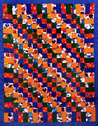 Large Tapestries - Textiles - 41 by Mildred Thibodeaux