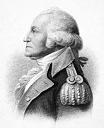 Saint-julien Prints - George Washington Print by Granger