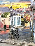Cities Pastels - 42 by John Boles
