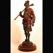Featured Sculpture Originals - 42nd Highlander the Blackwatch by Bryan Rapp