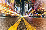 42nd Street Digital Art - 42nd Street New York by Boris Gorelik
