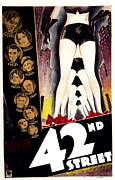 1933 Movies Prints - 42nd Street, Warner Baxter, Bebe Print by Everett
