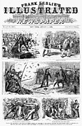 Sympathy Metal Prints - Great Railroad Strike, 1877 Metal Print by Granger