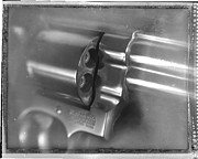 44 Magnum Prints - .44 Magnum Print by David Ricketts