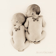 Sepia Tone Framed Prints - Untitled Framed Print by Anne Geddes