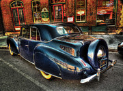 Historic Vehicle Photo Originals - 46 Continental by William Fields