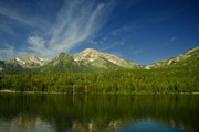 Spring Scenery Originals - Mountain Lake by Mark Smith