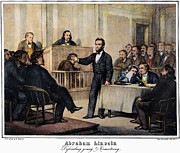 Trial Prints - Abraham Lincoln Print by Granger