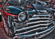 48 Chevy Convertible 2 Print by Anthony Wilkening