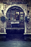 Italian Window Prints - Venezia Print by Joana Kruse