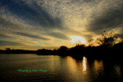 Foxriver Framed Prints - Sunset Framed Print by Joshua Fronczak