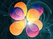 4f2 Electron Orbital Print by Laguna Design