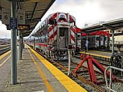 Silicon Valley Framed Prints - 4th and KING ST. CALTRAINS STATION - San Francisco Framed Print by Daniel Hagerman
